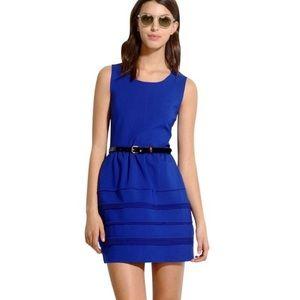 Madewell Silhouette Dress in Cobalt Blue